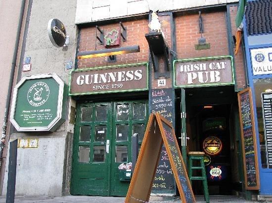 Irish Cat Pub: entrance
