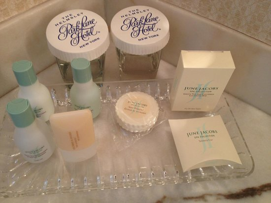 Park Lane Hotel: Great smelling amenities