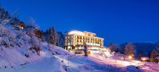Maerchenhotel Bellevue: im Winterkleid