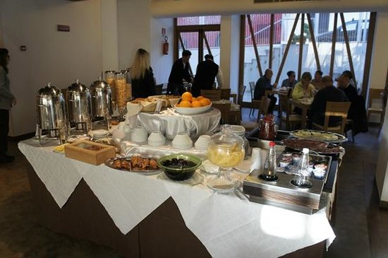 Hotel Eracle : Frühstück