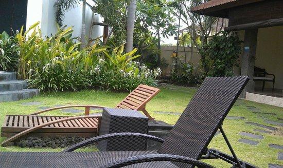 Villa Diana Bali: relaxing lounge