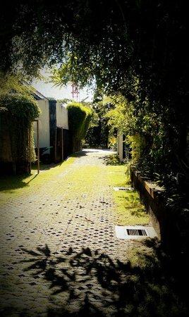 Villa Diana Bali: walkway