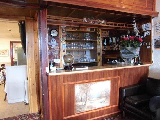Kirkstall Hotel: questo è il piccolo bar in cui si possono prendere bibite e quant'altro.