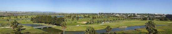 Vidamar Resort Algarve : Panoramic view to onsite golf course & nature reserve