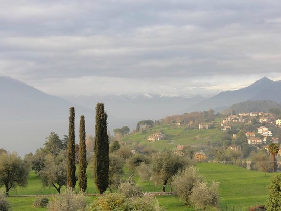 Il Poggio di Bellagio: View from the garden