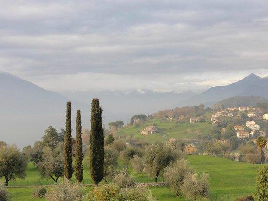 Il Poggio di Bellagio : View from the garden