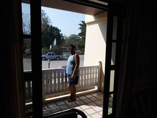 Eurasia Cha-am Lagoon : balcon