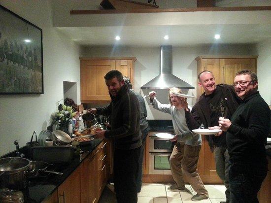Crosswoodhill Farm Holiday Cottages Near Edinburgh: Feeding the masses