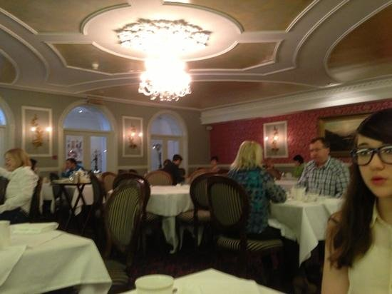 Randles Hotel: breakfast restaurant