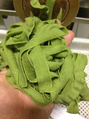 Randaddy's: Home made spinach tagliatelle pasta at Randaddys Cafe & Restaurant