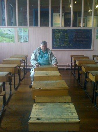Scotland Street School Museum: classroom