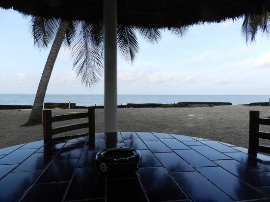 Hotel Tropicana: view from breakfast table