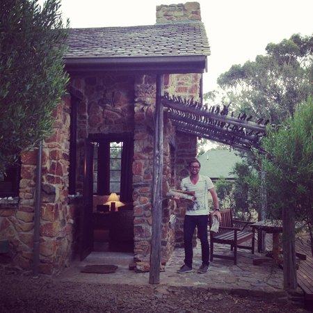 Piermont Retreat: The entrance to cottage no 4