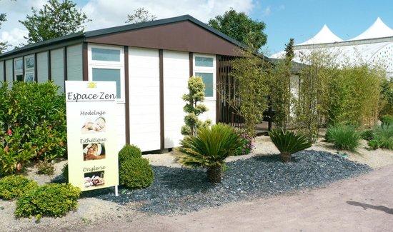 Camping Les Blancs Chenes : L'espace Zen pour prendre soin de soi