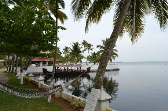 The World Backwaters: Lake side view