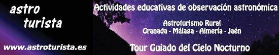 Astroturista Guided Tours of the Night Sky: Logo-anuncio