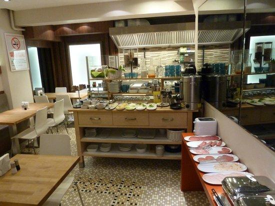 Elanaz Hotel Istanbul: Detalle del desayunador