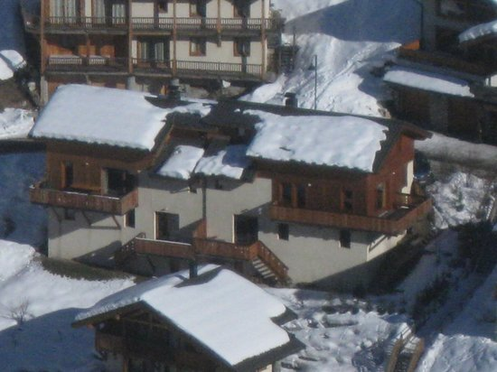 seventy3chalets : Chalet from Vanoise Express