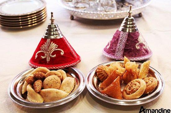 Patisserie Amandine Marrakech  Pâtisserie Marocaine fine et 100% Amandes