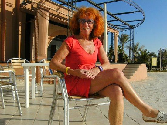 Djerba Sun Club: Området ved den udendørs scene