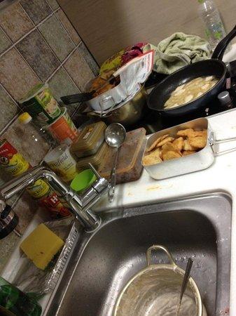 Pencil Hostel : Simple cooking