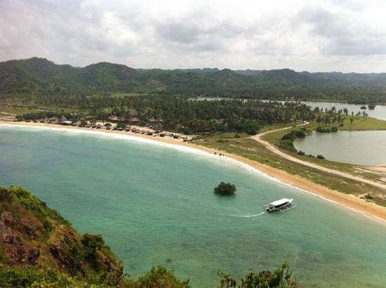 Novotel Lombok: the resort from the hill