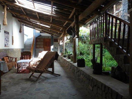 Erdgeschoss und Empfangsraum Laguna de los Condores