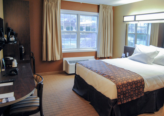 Microtel Inn & Suites by Wyndham Mineral Wells/Parkersburg: Single Queen Handicap Accessible Room