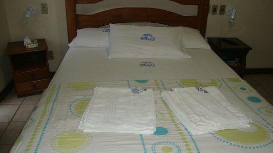 Pousada Sanhaco: cama doble
