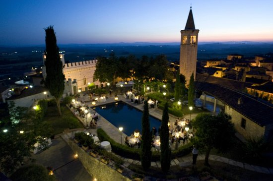Castello delle Serre: View from the Deluxe Suite in the Tower
