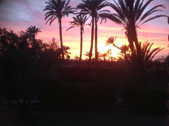 Murano Resort Marrakech: sunset at Murano Marrakech