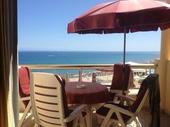 Atlantic Beach Club: Vistas desde la terraza de la habitación