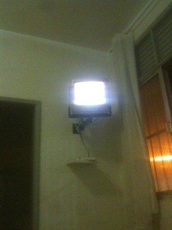 Patamares Praia Hotel : Camera- TV