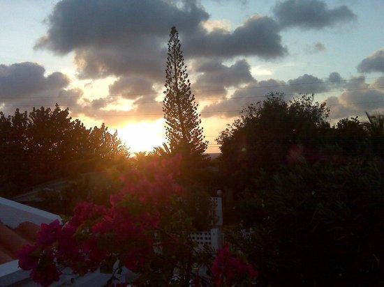 Villa Eco Bonaire: At sunset
