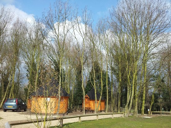 Lee Valley Campsite, Sewardstone: VIEW FROM CABINS