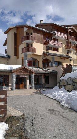 Village Vacances La Lauziere : Entrée principale