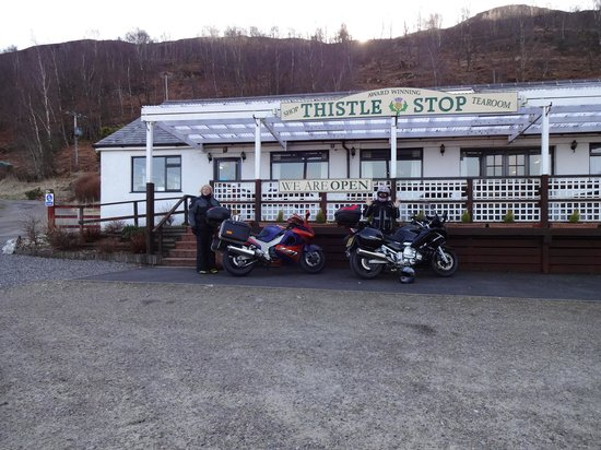 Thistle Stop: Friendly Cafe!