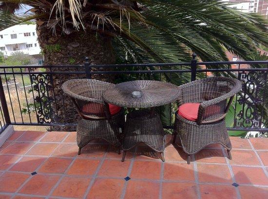 Glen Boutique Hotel & Spa: la petite terrasse