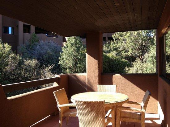 Hyatt Pinon Pointe: Balcony off 1 BR (Room 1413 B)