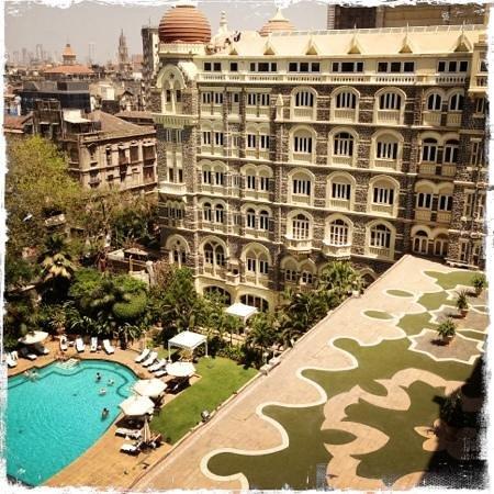 The Taj Mahal Palace, Mumbai: City view