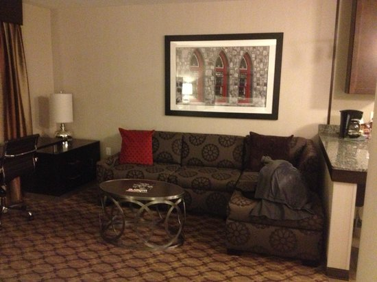 Residence Inn Boston Logan Airport/Chelsea: Sitting area