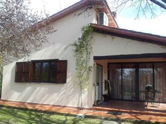 I Sicomori : L'esterno col patio