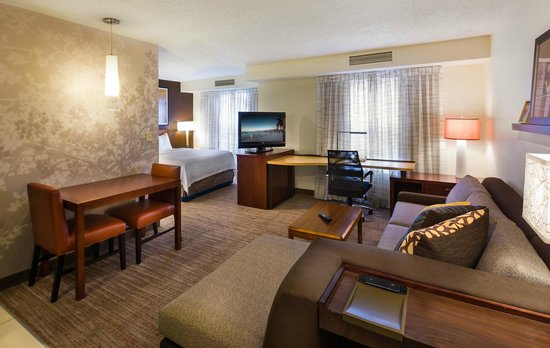 Residence Inn Columbus Easton: Studio suite