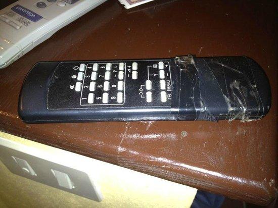 Gattopardo Park Hotel: Telecomando