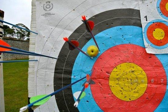 Adare Manor: My Archery Lesson - success