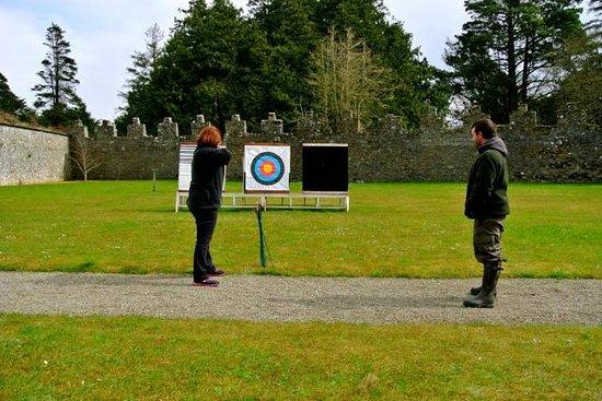 Adare Manor: My Archery Lesson