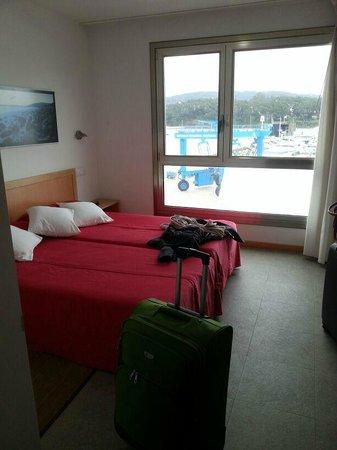 Hotel Varadoiro: Habitación vistas al mar (3º piso)