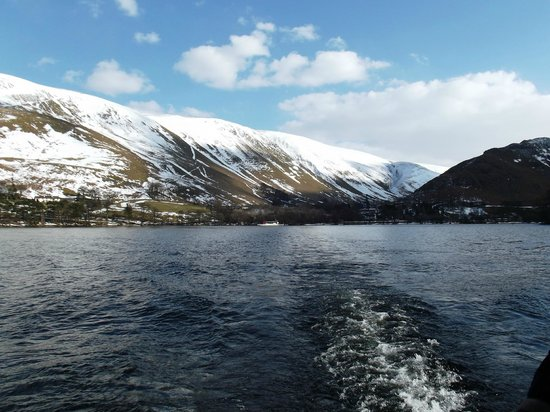 Ullswater Steamers: Ullswater in the snow