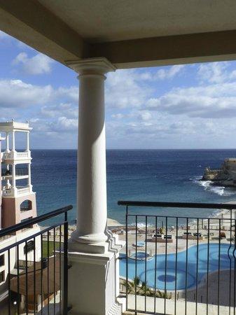 The Westin Dragonara Resort, Malta: Vue depuis notre chambre
