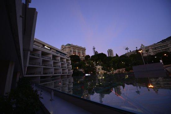 Fairmont Monte Carlo: Dalla mia terrazza